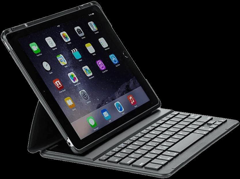 Xceed CoverKey Wireless Dansk iPad Tastatur med Case Sort